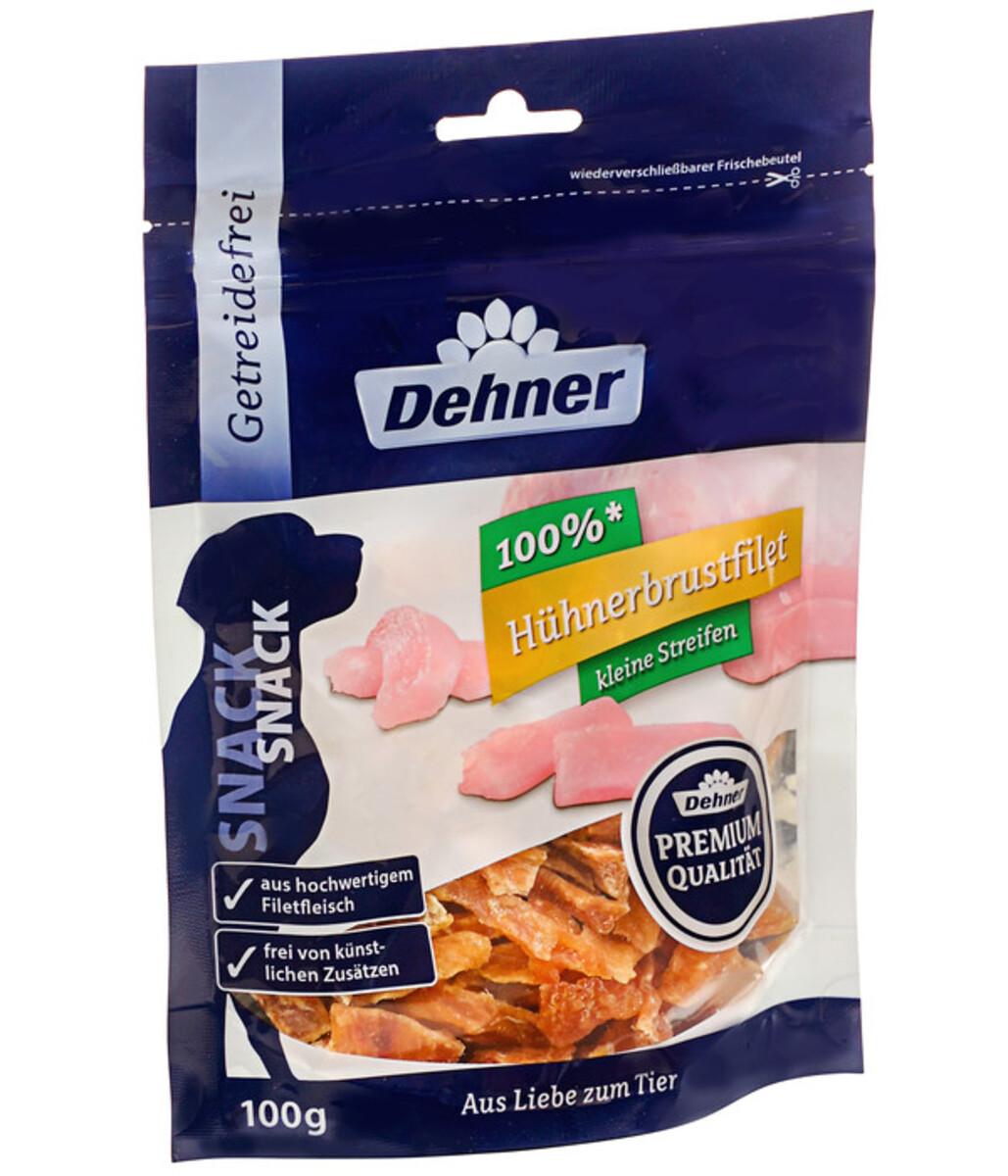 Bild 1 von Dehner Premium Hundesnack Hühnerbrust Mini, 100g