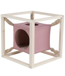 Dehner Katzenhöhle Cube, 54 x 54 x 54 cm
