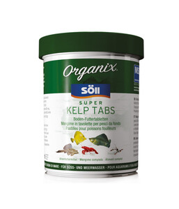 Söll Organix Super Kelp Tabs, Fischfutter