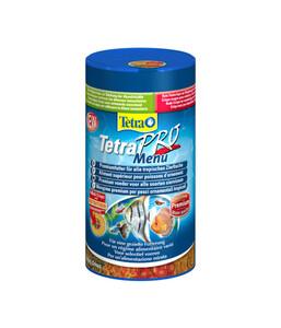 Tetra TetraPro Menu Fischfutter, 250 ml