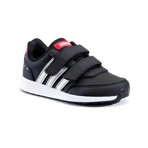 Sportschuhe Walking Switch Klettverschluss Kinder schwarz/weiß