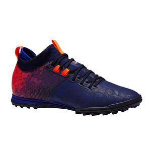 Fußballschuhe Multinocken Agility 900 HG Erwachsene blau/orange