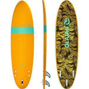 Surfboard Schaumstoff Soft 7´ 100 inkl. Leash und 3 Finnen