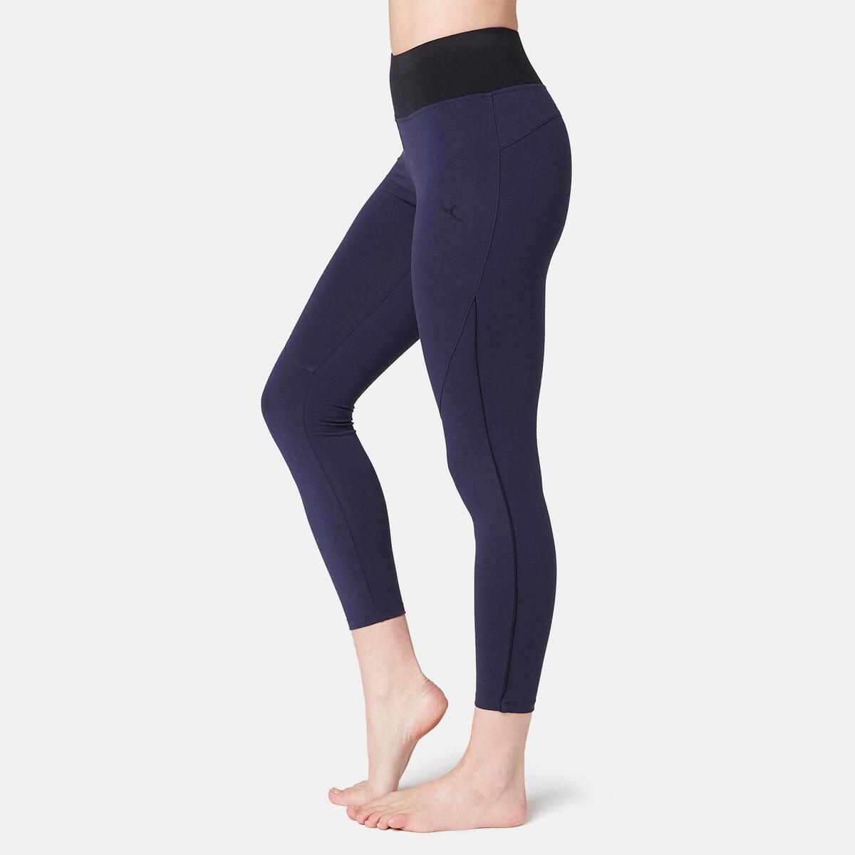 Bild 1 von 7/8-Leggings 510 Gym & Pilates Damen marineblau/schwarz