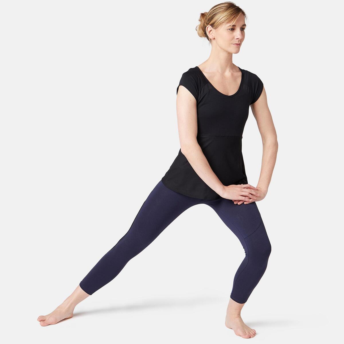 Bild 2 von 7/8-Leggings 510 Gym & Pilates Damen marineblau/schwarz