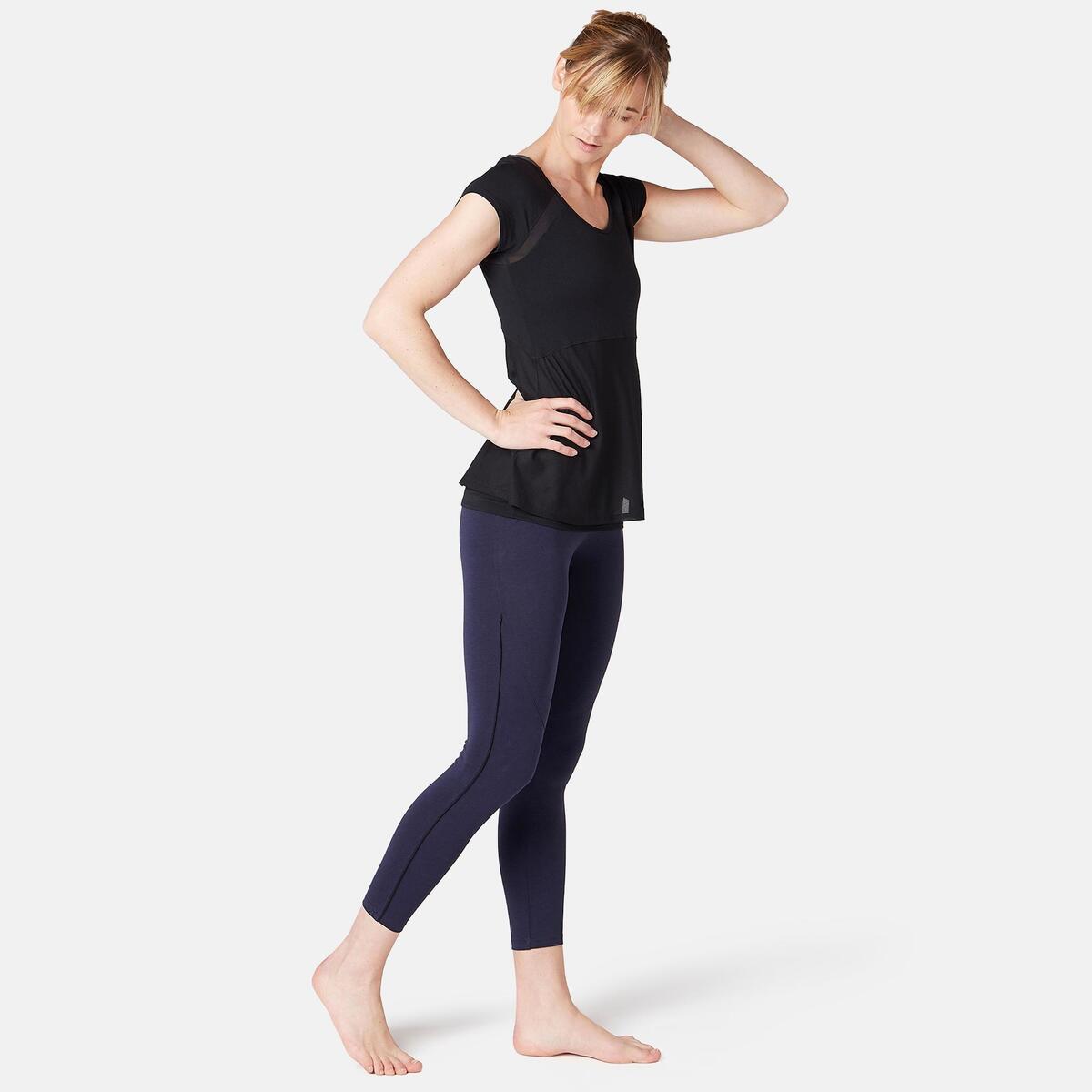 Bild 3 von 7/8-Leggings 510 Gym & Pilates Damen marineblau/schwarz
