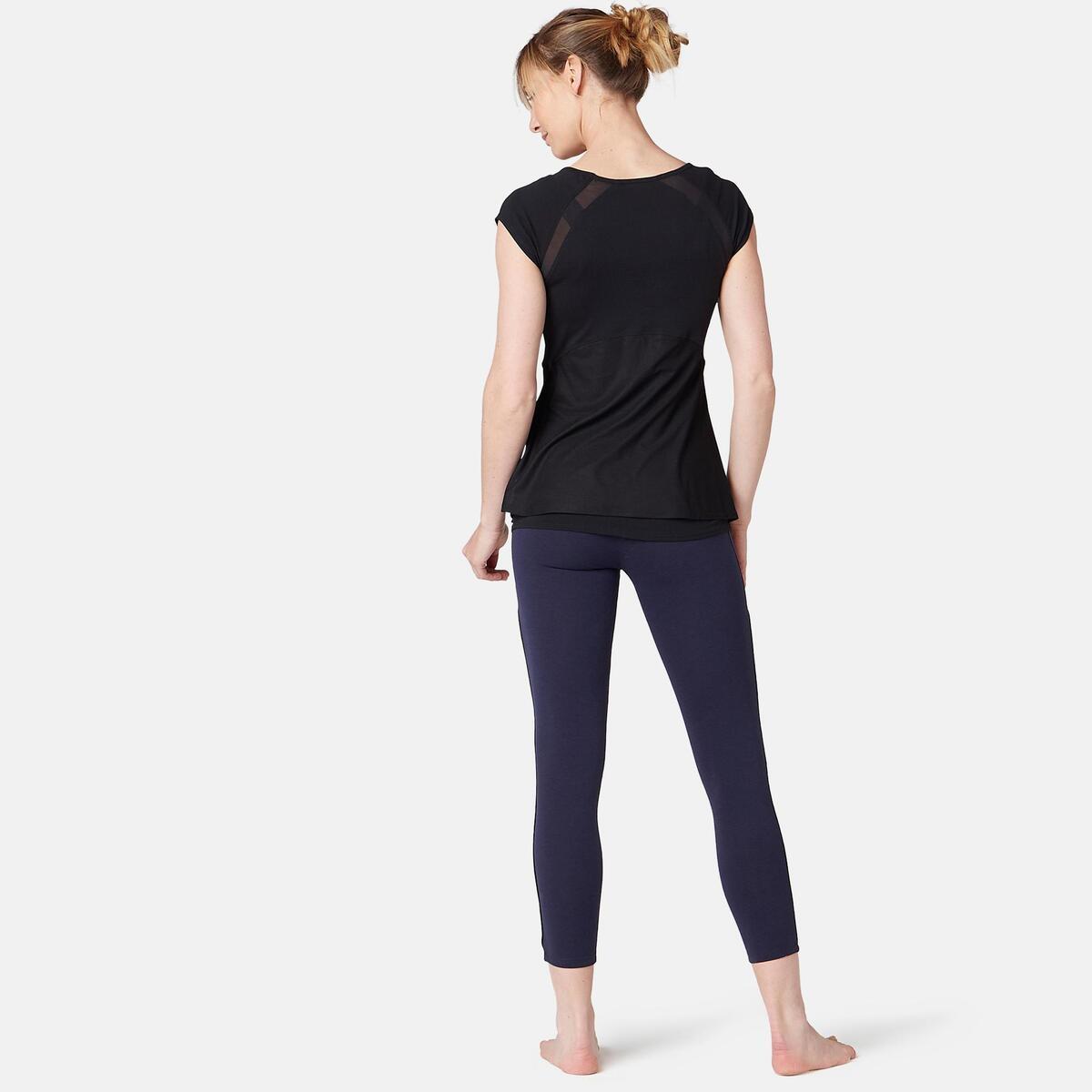 Bild 4 von 7/8-Leggings 510 Gym & Pilates Damen marineblau/schwarz
