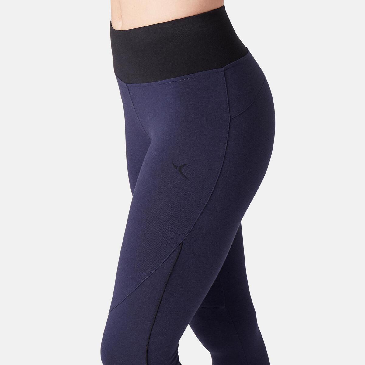 Bild 5 von 7/8-Leggings 510 Gym & Pilates Damen marineblau/schwarz