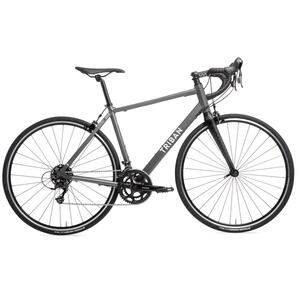 Rennrad TRIBAN RC 120 grau