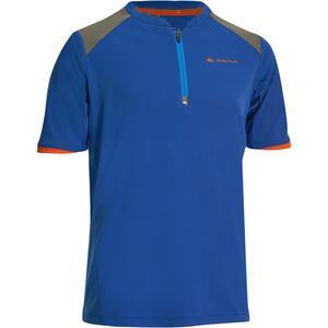 T-Shirt Wandern MH550 Kinder blau