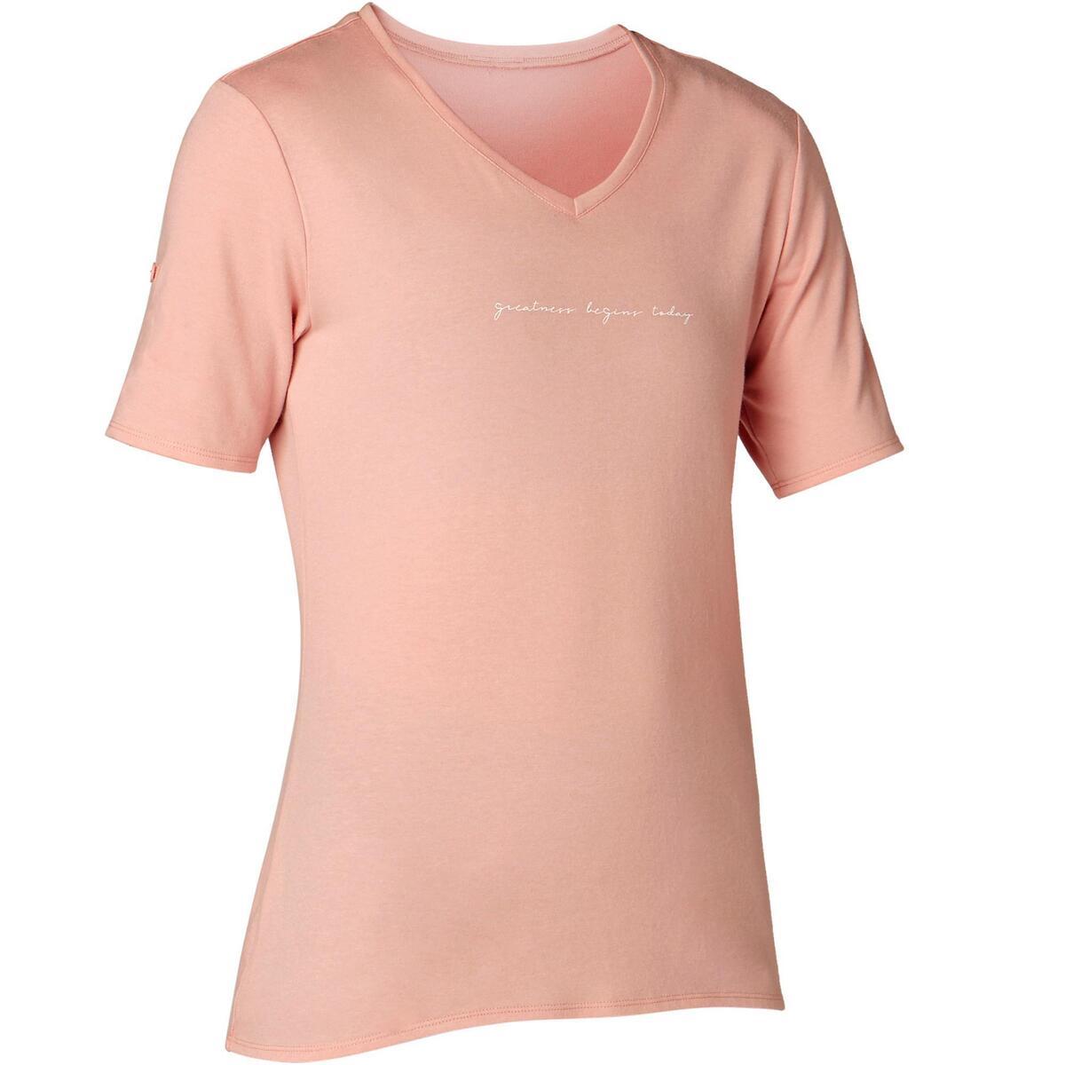 Bild 1 von T-Shirt Regular 510 Pilates sanfte Gym Damen rosa mit Print