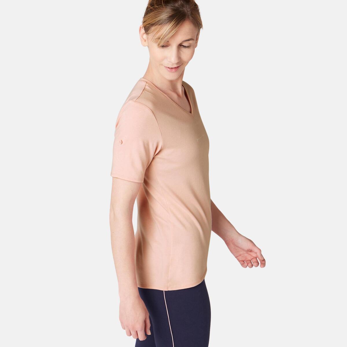 Bild 2 von T-Shirt Regular 510 Pilates sanfte Gym Damen rosa mit Print