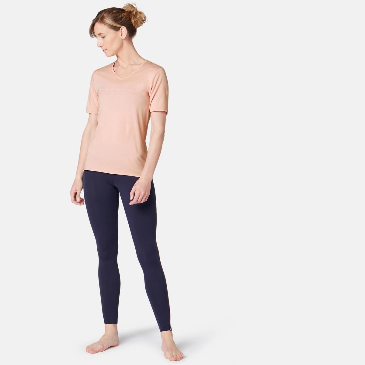 Bild 3 von T-Shirt Regular 510 Pilates sanfte Gym Damen rosa mit Print