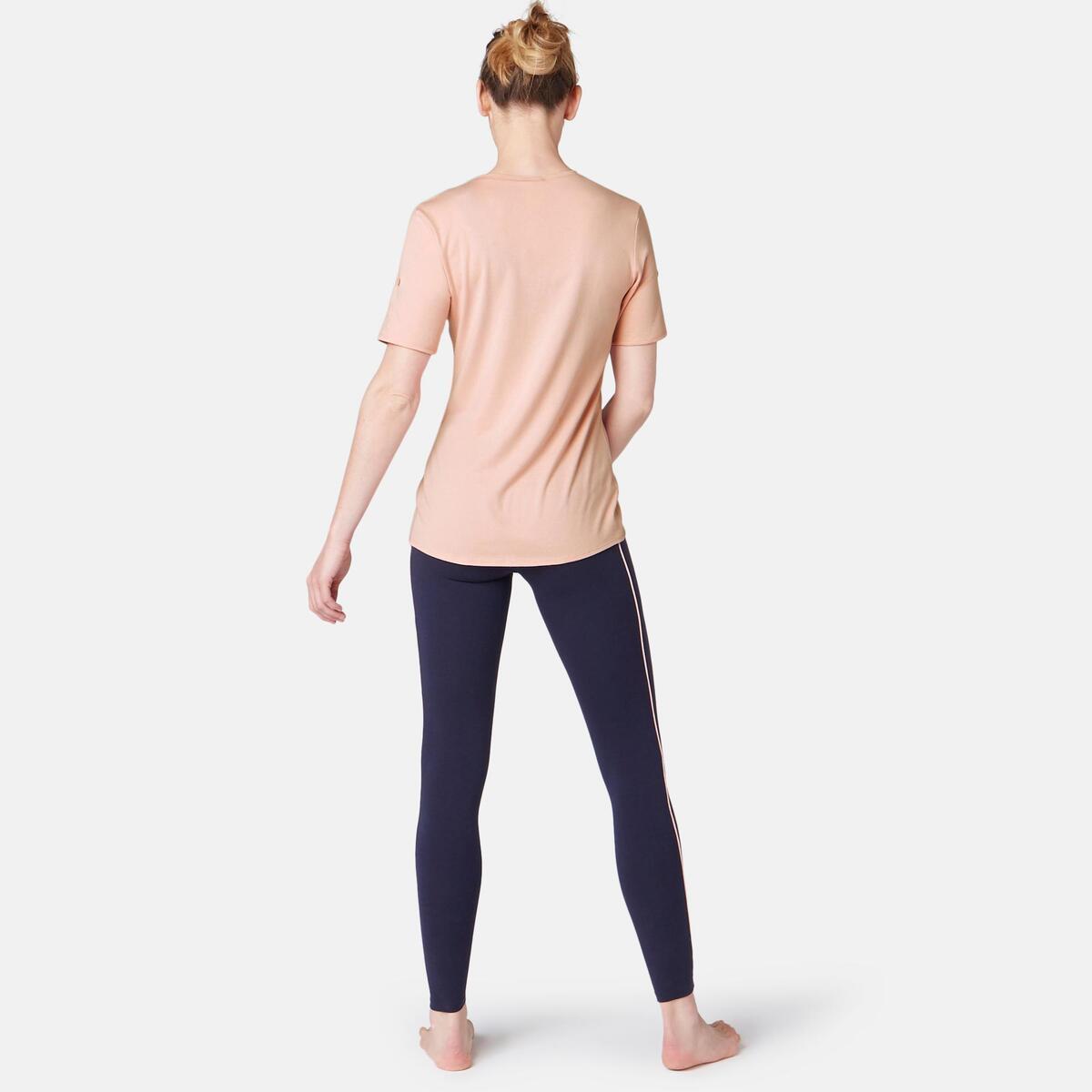 Bild 5 von T-Shirt Regular 510 Pilates sanfte Gym Damen rosa mit Print