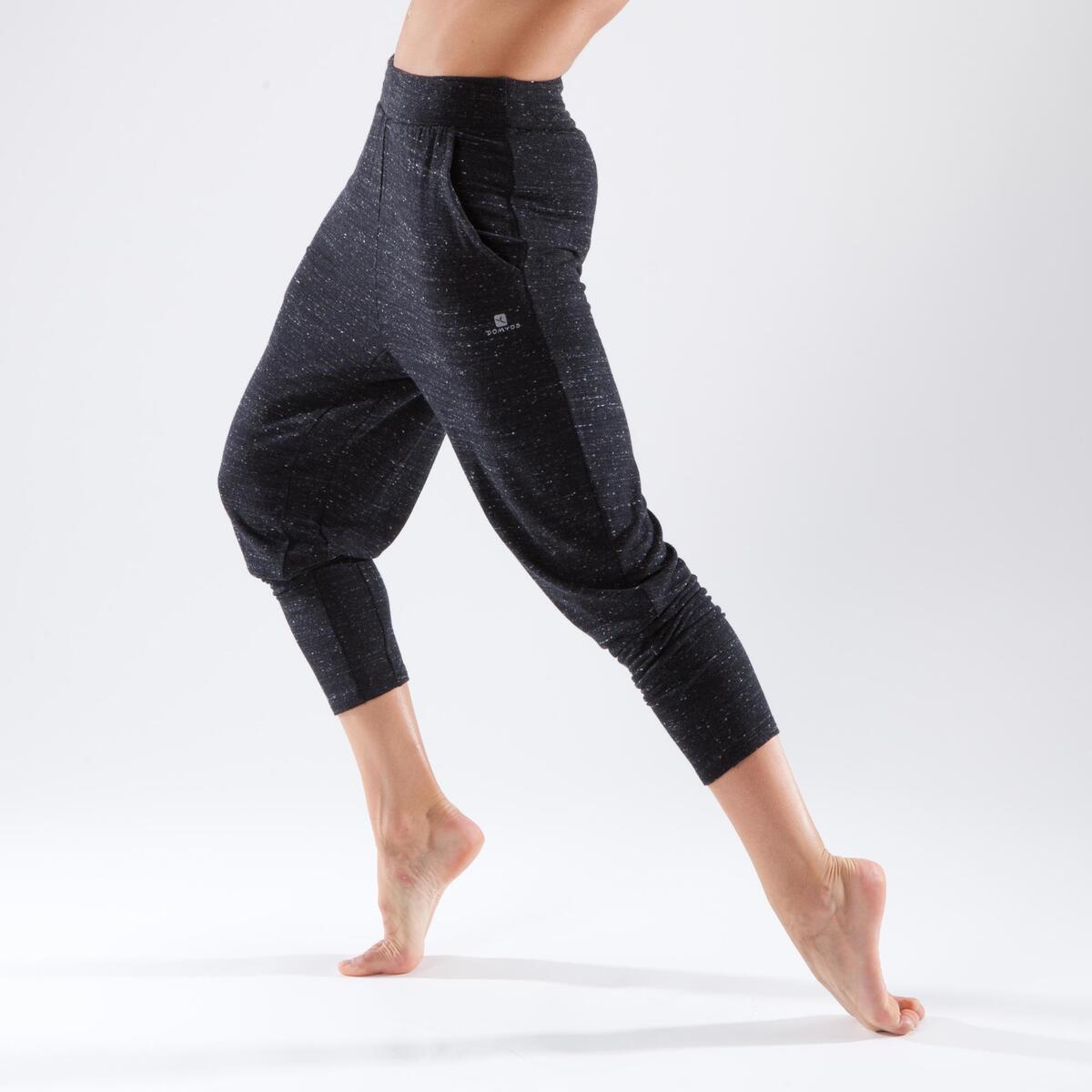 Bild 5 von Tanzhose Karottenform Modern Dance Damen grau meliert