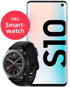 Samsung Galaxy S10 mit Smartwatch mit o2 Free M Flex mit 10 GB