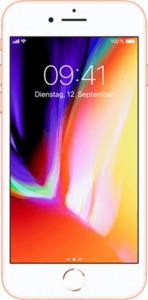 Apple iPhone 8 mit o2 Free L Boost mit 60 GB gold