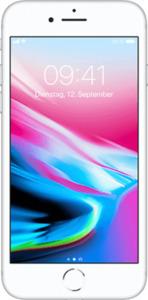 Apple iPhone 8 mit o2 Free L Boost mit 60 GB silber