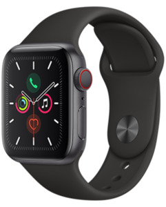 Apple Watch S5 LTE Alu 40 Sport mit o2 Free S mit 1 GB