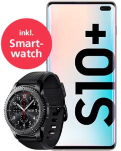 Samsung Galaxy S10+ mit Smartwatch mit o2 Free Unlimited