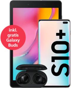 Samsung Galaxy S10+ mit gratis Tablet mit o2 Free L mit 30 GB