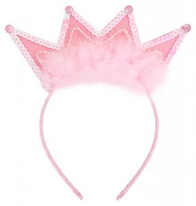 Haarreif - Crowned Pink