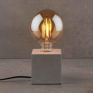 Tischleuchte mit LED-Glühlampe G125