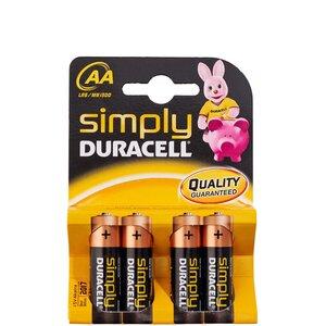 Batterien 4er Set AA 1,5V Akaline