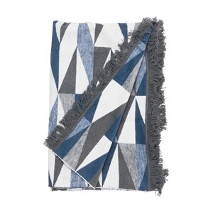 Flanell-Decke Dreiecke 150x200 cm