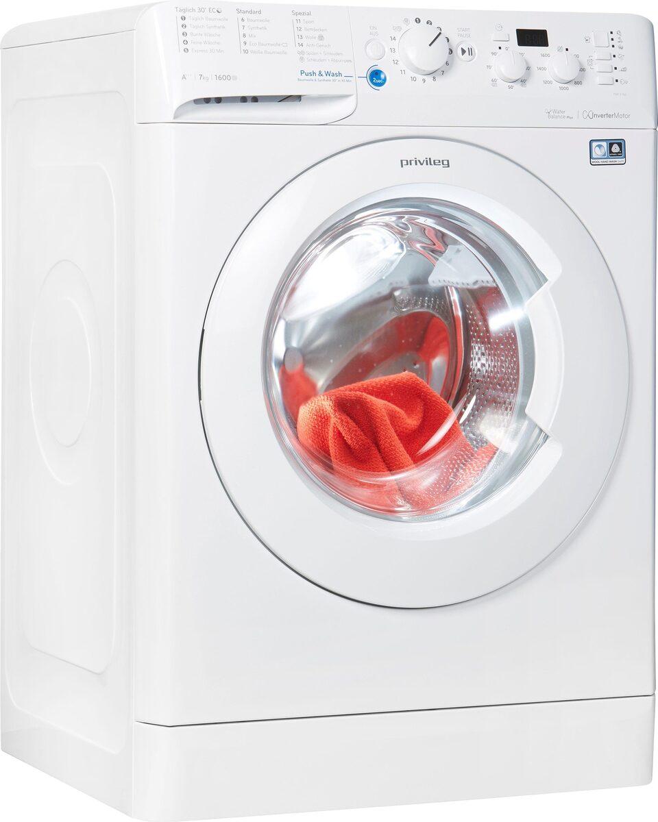 Bild 1 von Privileg Waschmaschine PWF X 763, 1600 U/Min