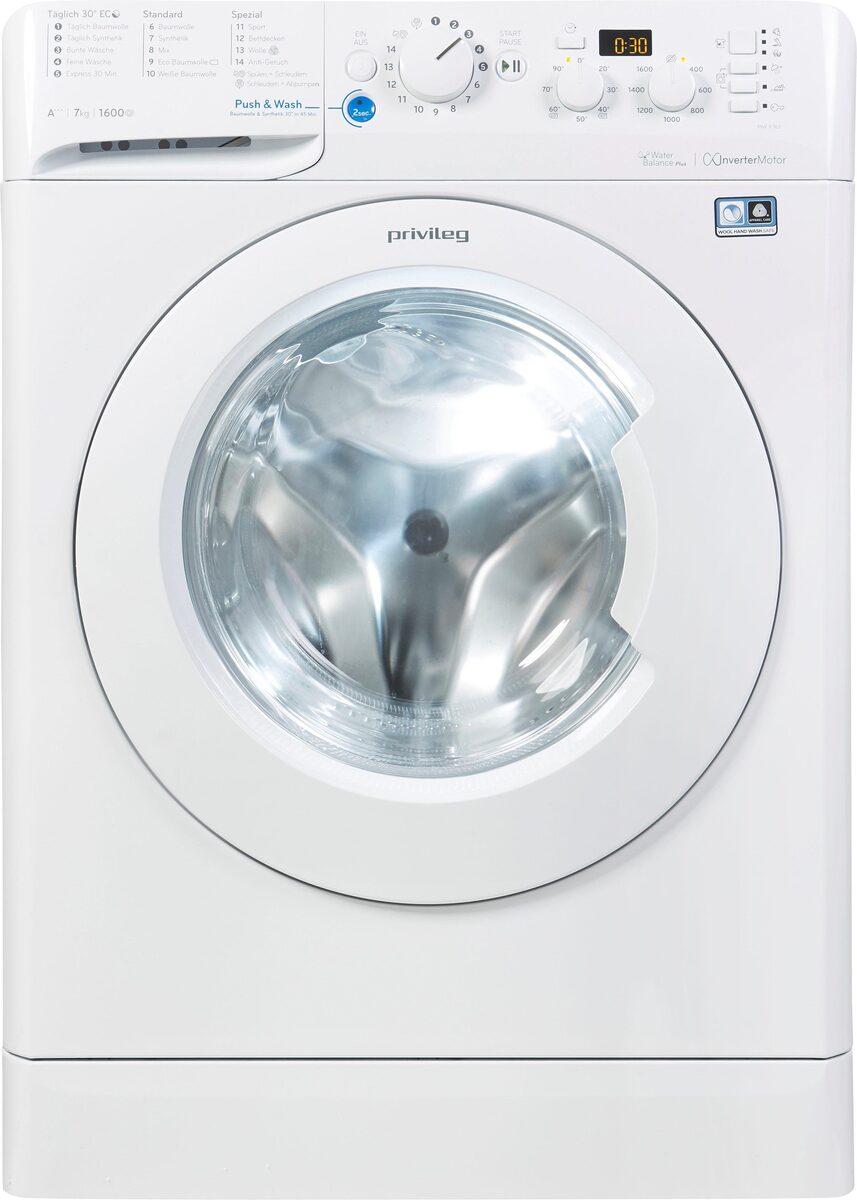Bild 3 von Privileg Waschmaschine PWF X 763, 1600 U/Min