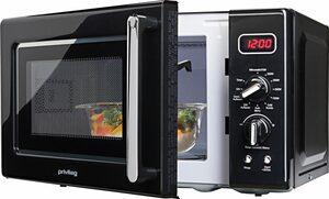Privileg Mikrowelle im Retro-Design, 700 W, 8 Automatikprogramme, mit Grill, 20l Garraum