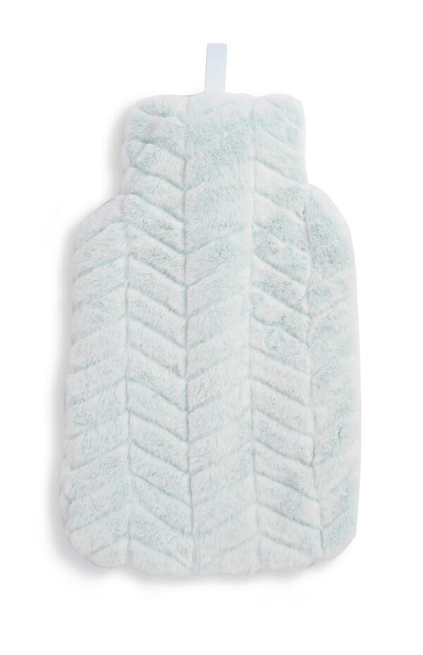 Blaue 2L-Wärmflasche