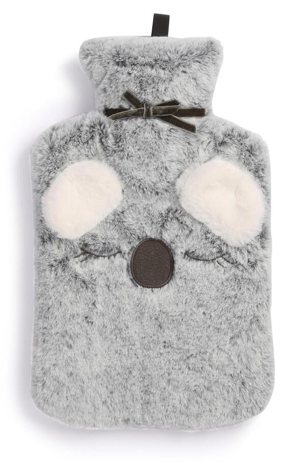 Graue Koala-Wärmflasche