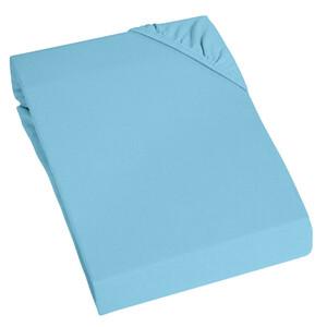 Home Ideas Living Thermofleece Spannbetttuch, blau
