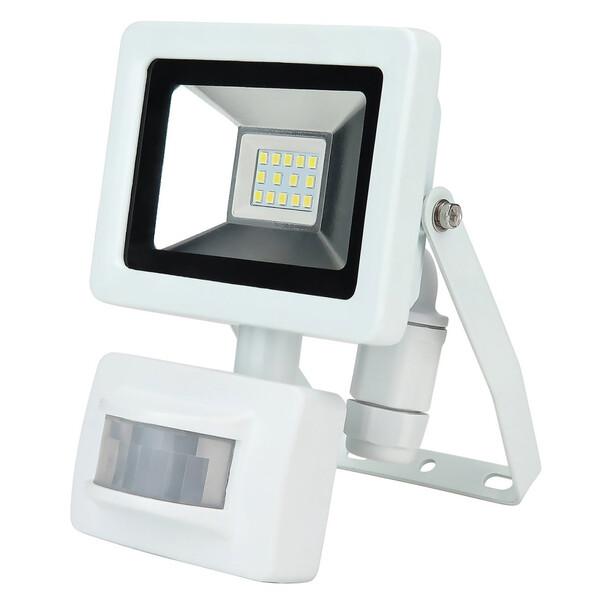 Unitec LED Strahler 10W mit Bewegungsmelder