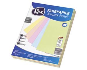 Rex®  Farbpapier Mixpack