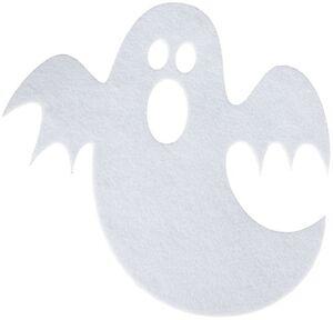 Platzmatte - Geist - aus Filz - Ø = 40,5 cm