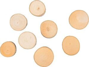 Streudeko - Holzscheiben - 100 g