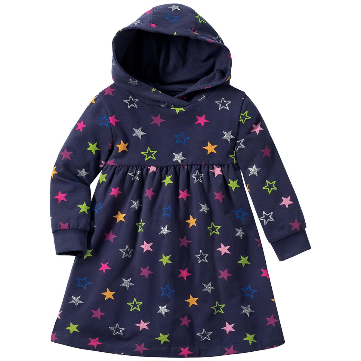 Bild 1 von Baby Sweatkleid mit bunten Sternen allover