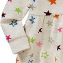 Bild 3 von Baby Sweatkleid mit bunten Sternen allover