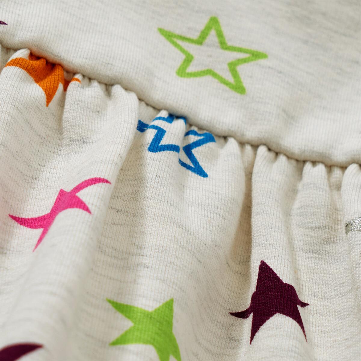 Bild 5 von Baby Sweatkleid mit bunten Sternen allover