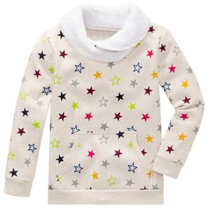 Baby Sweatshirt mit buntem Sternen-Print