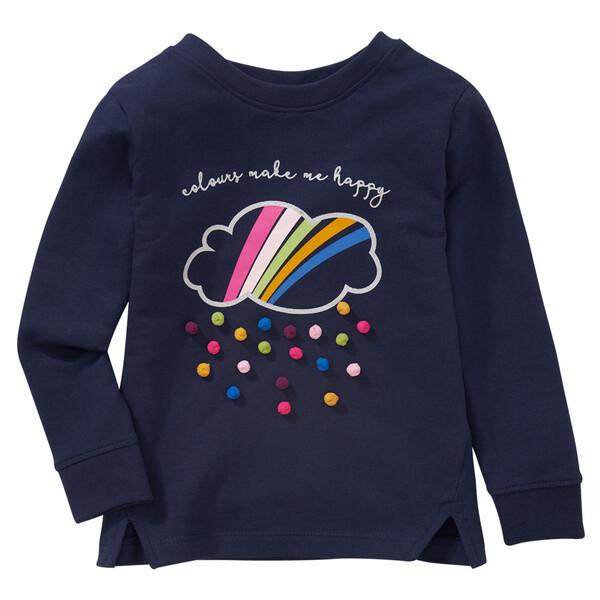 Mädchen Sweatshirt mit 3D-Motiv