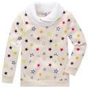 Bild 1 von Mädchen Sweatshirt mit buntem Sternen-Print