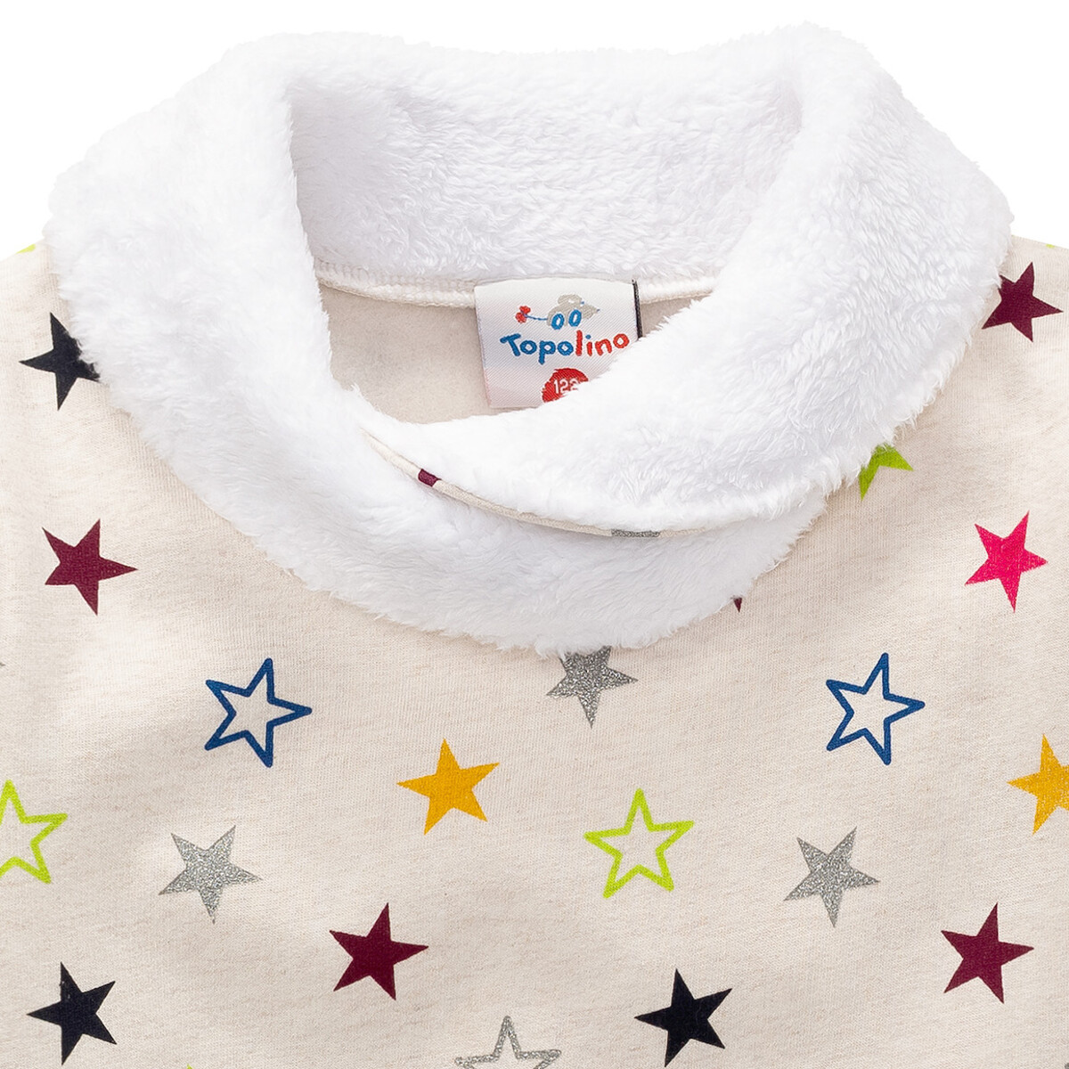 Bild 2 von Mädchen Sweatshirt mit buntem Sternen-Print