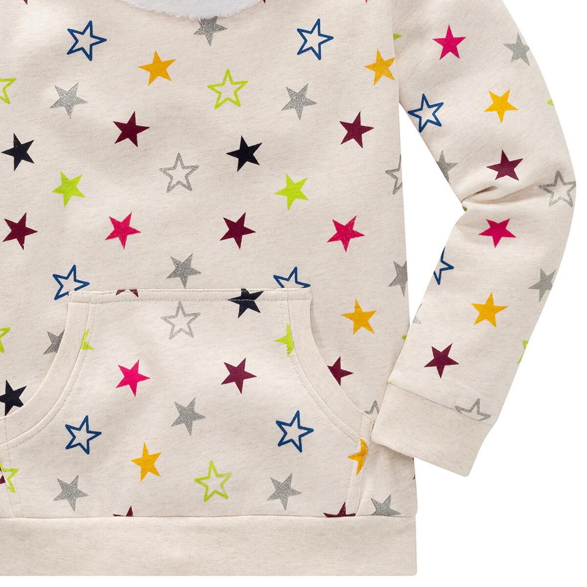 Bild 3 von Mädchen Sweatshirt mit buntem Sternen-Print