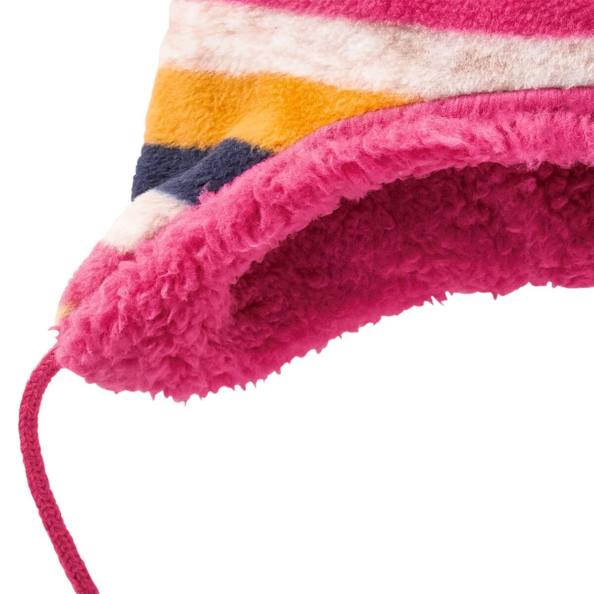 Bild 4 von Baby Fleecemütze mit Pompon