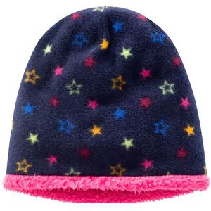 Mädchen Fleecemütze mit Sternen