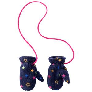 Baby Fäustlinge mit Sternen